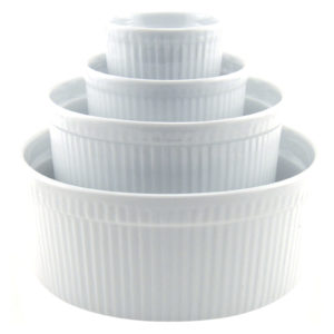 Set of 4 Soufflés Medium by BIA