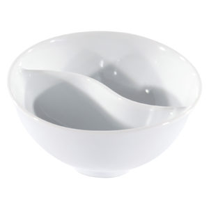 Set of 4, 2 Section Divided Cups by BIA