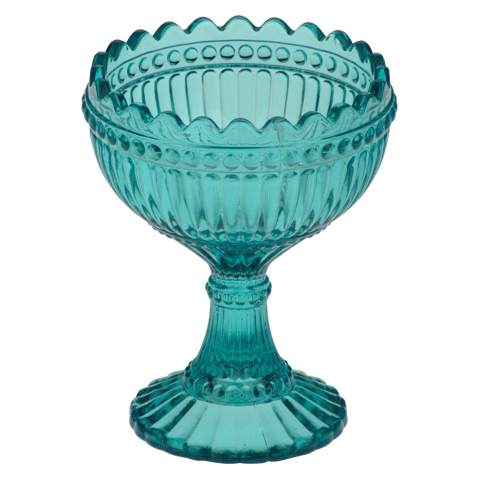 Set of 6 Loire Coupes Aqua Blue by Anton Studio Designs