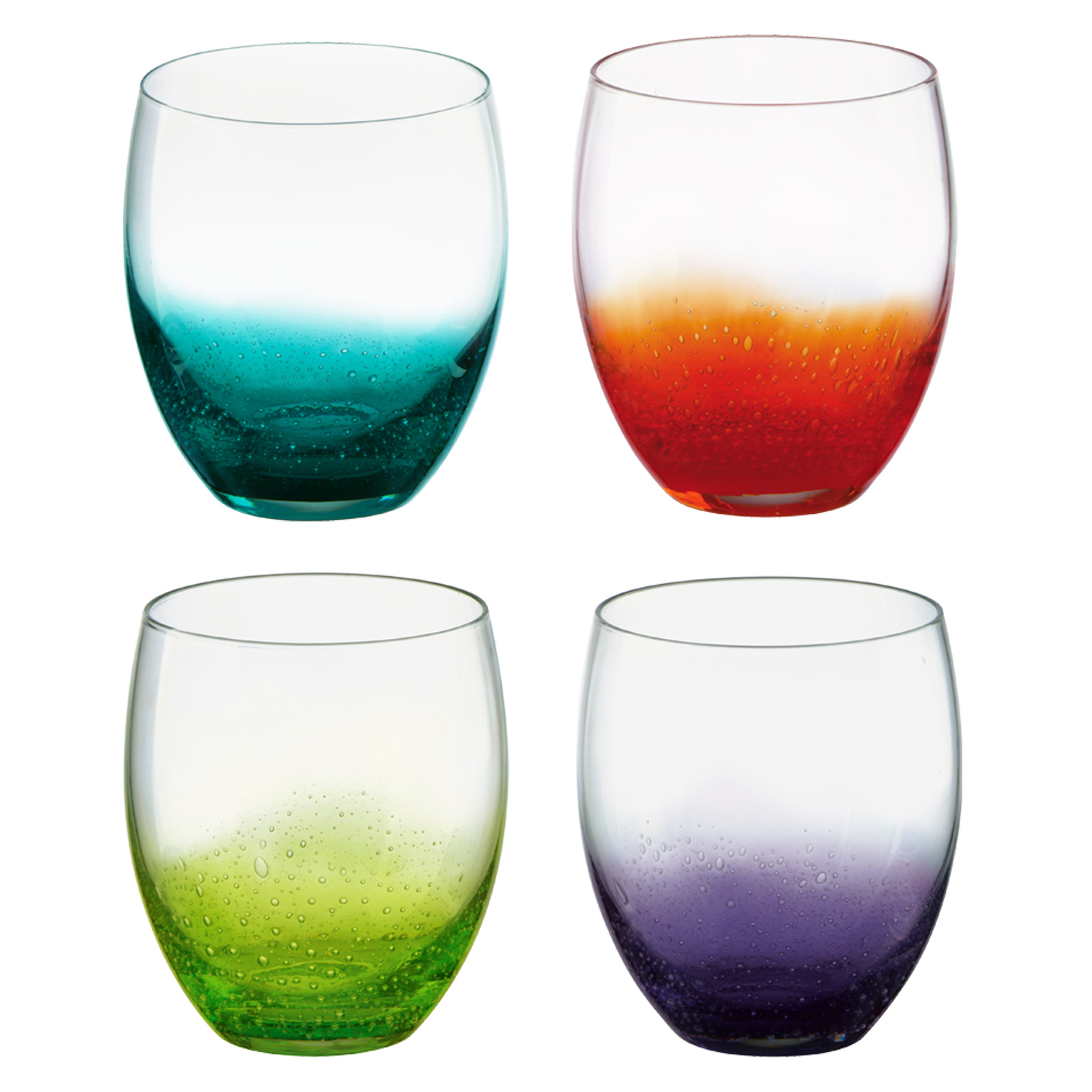 Set of 4 Fizz DOF Tumblers by Anton Studio Designs