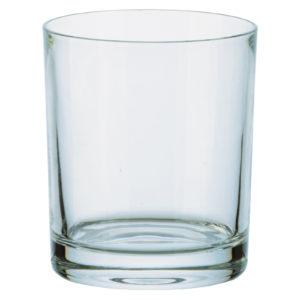 Set of 6 Plain Whisky Tumblers (24%) by Bohemia