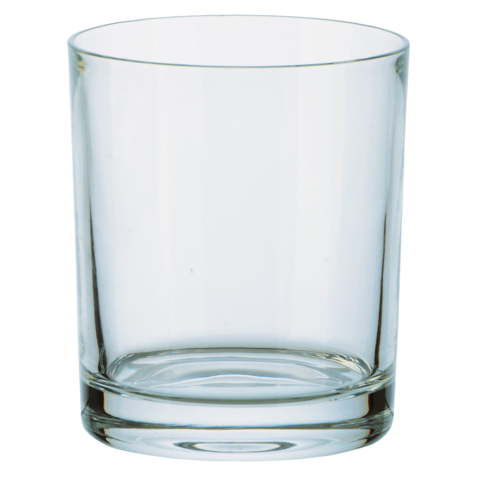 Set of 6 Plain Whisky Tumblers (24%) by Bohemia