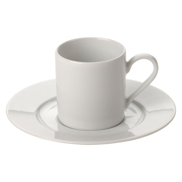 Set of 36 Roma Coffee Saucers by Lubiana