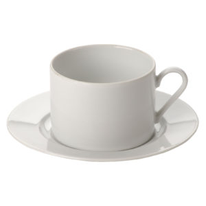 Set of 12 Roma Tea Saucers by Lubiana