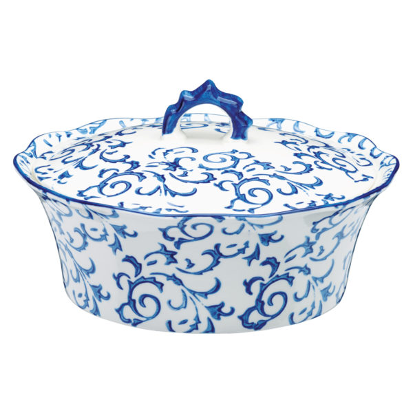 Heritage Casserole Blue by BIA