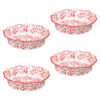 Set of 4 Heritage Individual Pie Dishes Red by BIA