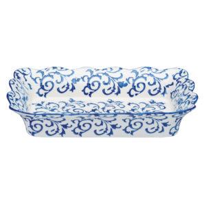 Heritage Rectangular Roaster Blue by BIA