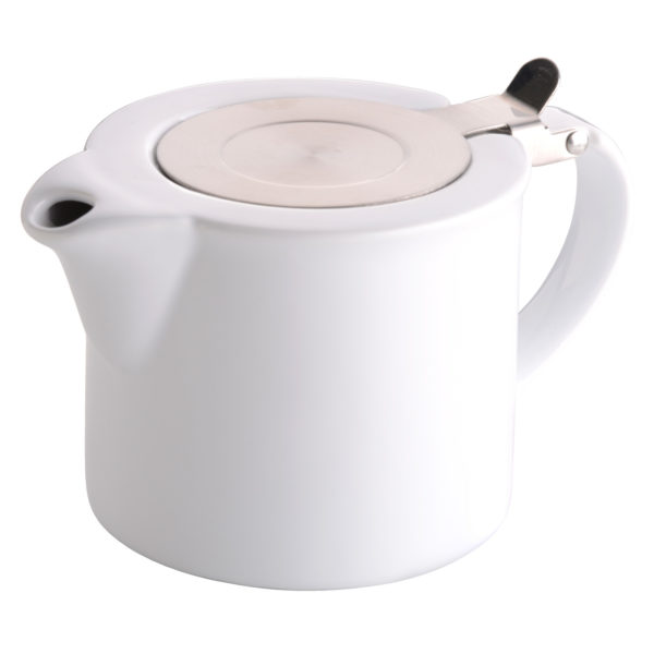 Infuse Teapot White by BIA