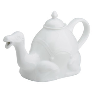 Camel Teapot White by BIA