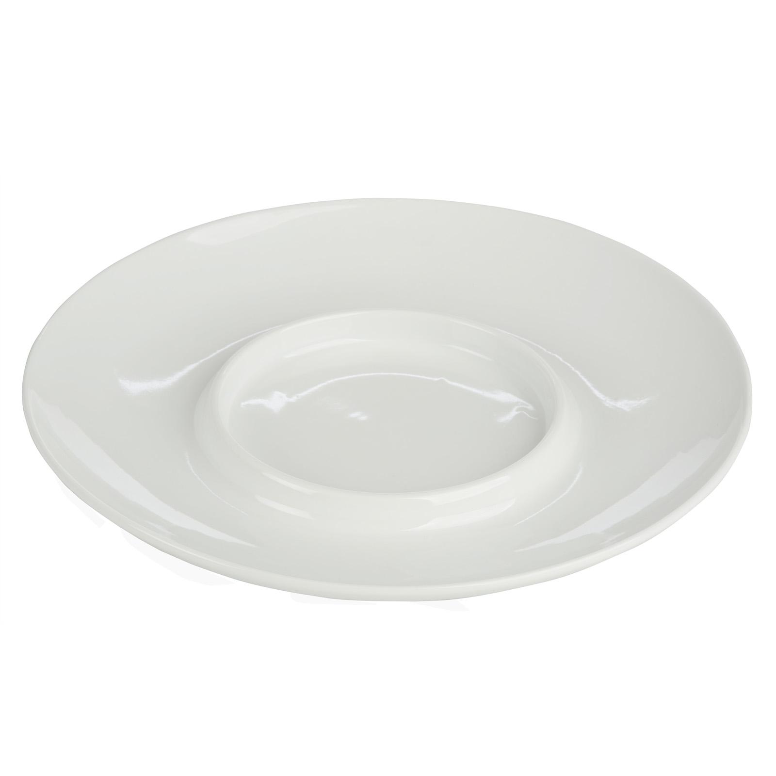 Camembert Baker Platter White by BIA