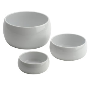 Set of 4 Globe Bowls Small by BIA