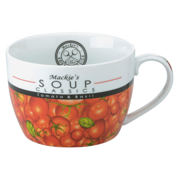 Mackie's Tomato & Basil Soup Mug by BIA