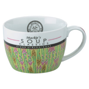 Mackie's Cream of Asparagus Soup Mug by BIA