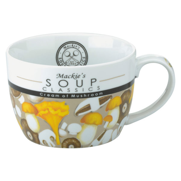 Mackie's Cream of Mushroom Soup Mug by BIA