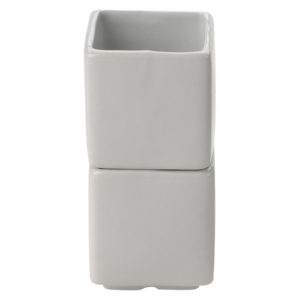 Set of 6 Square Pots Extra Large by BIA