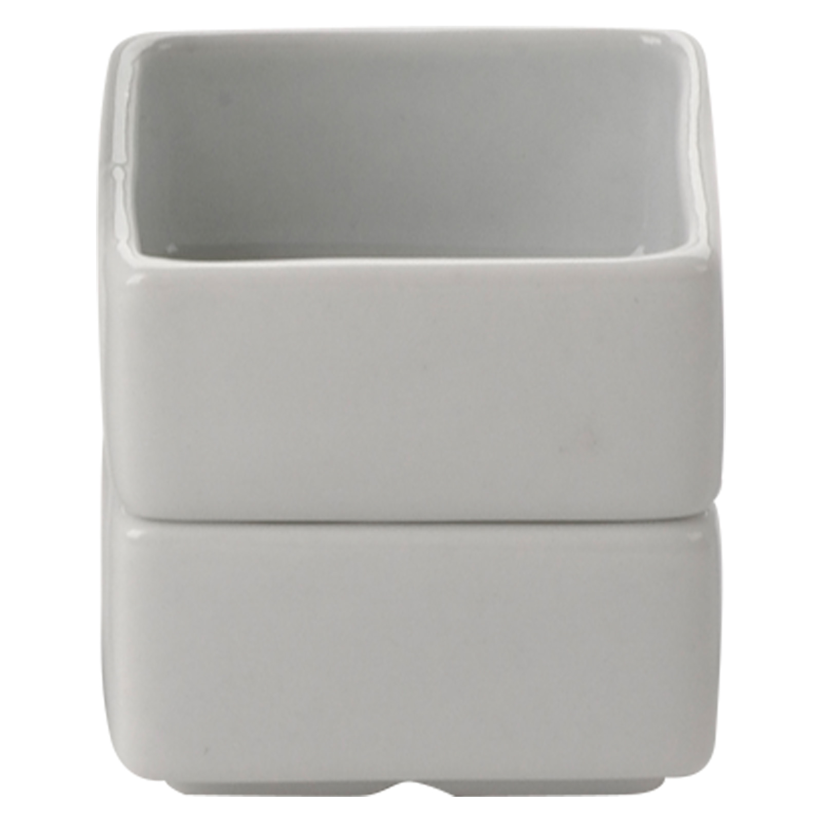 Set of 6 Square Pots Medium by BIA
