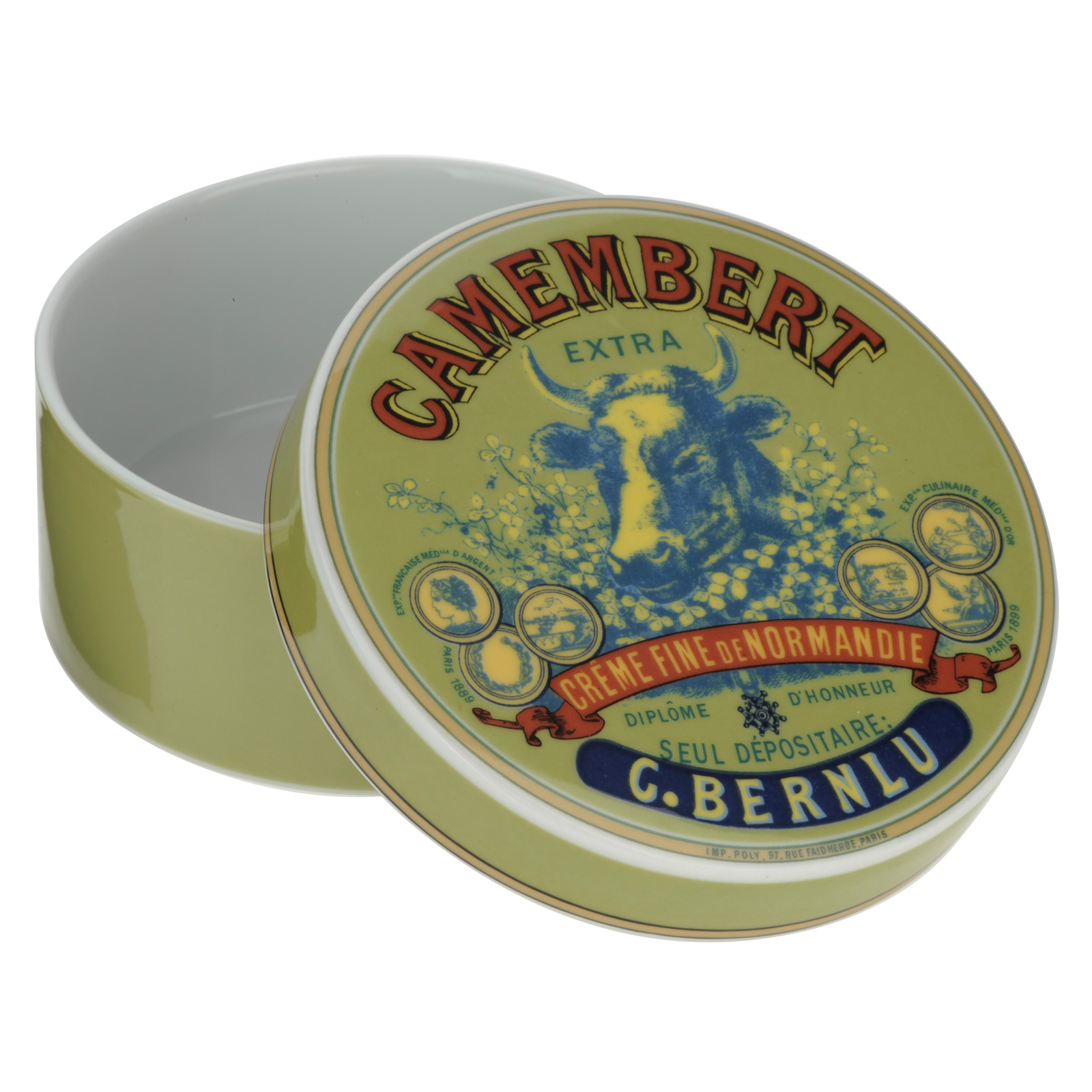 Cow's Head Camembert Baker & Cover by BIA