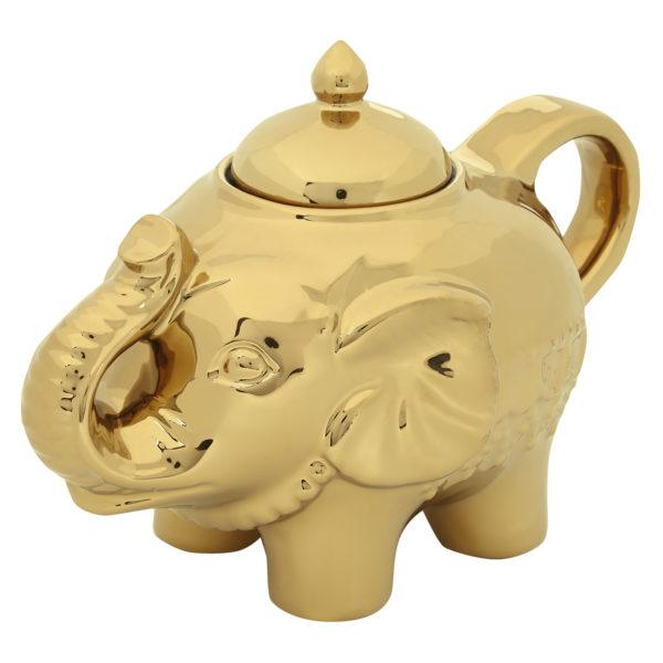 Elephant Sugar Pot Gold by BIA