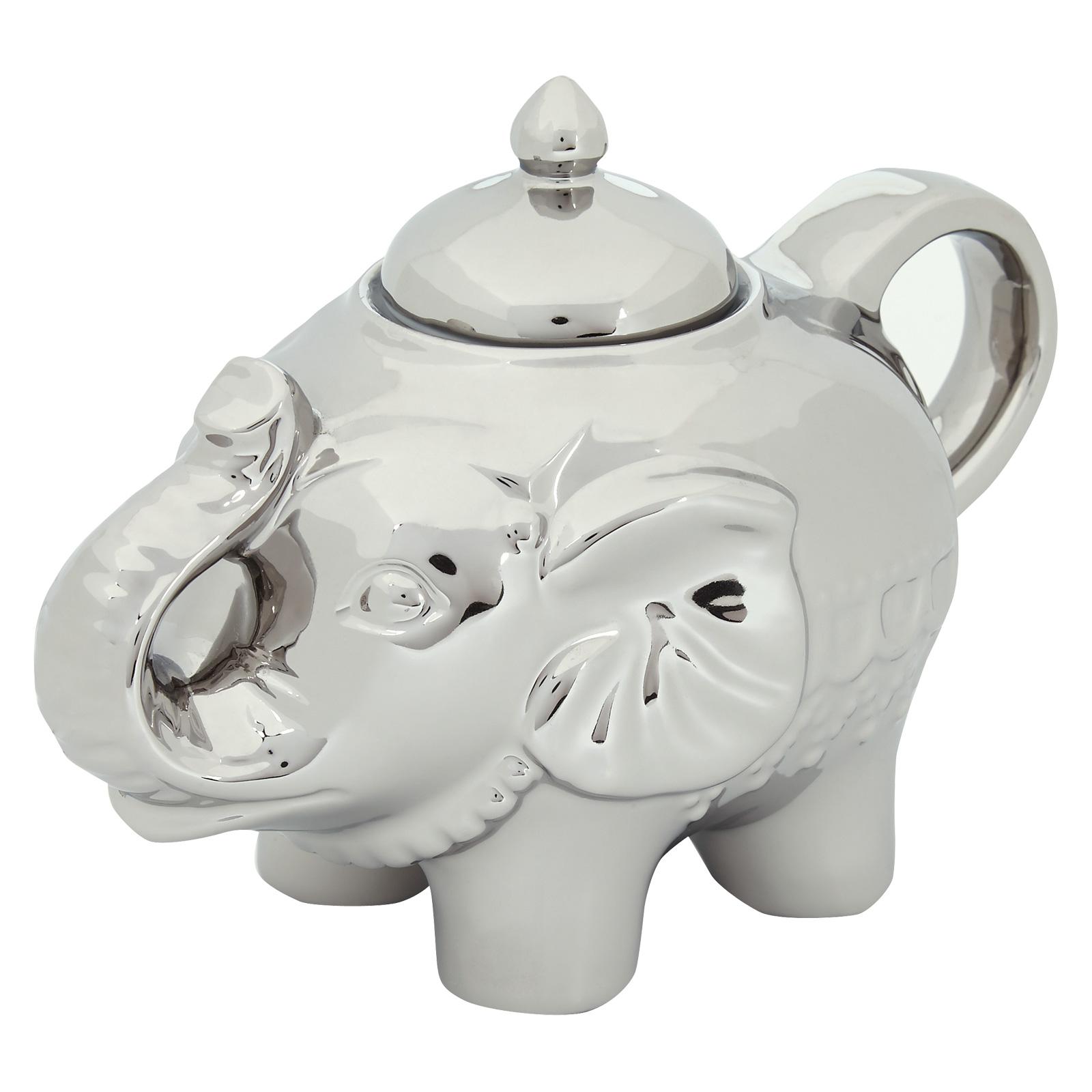 Elephant Sugar Pot Platinum by BIA
