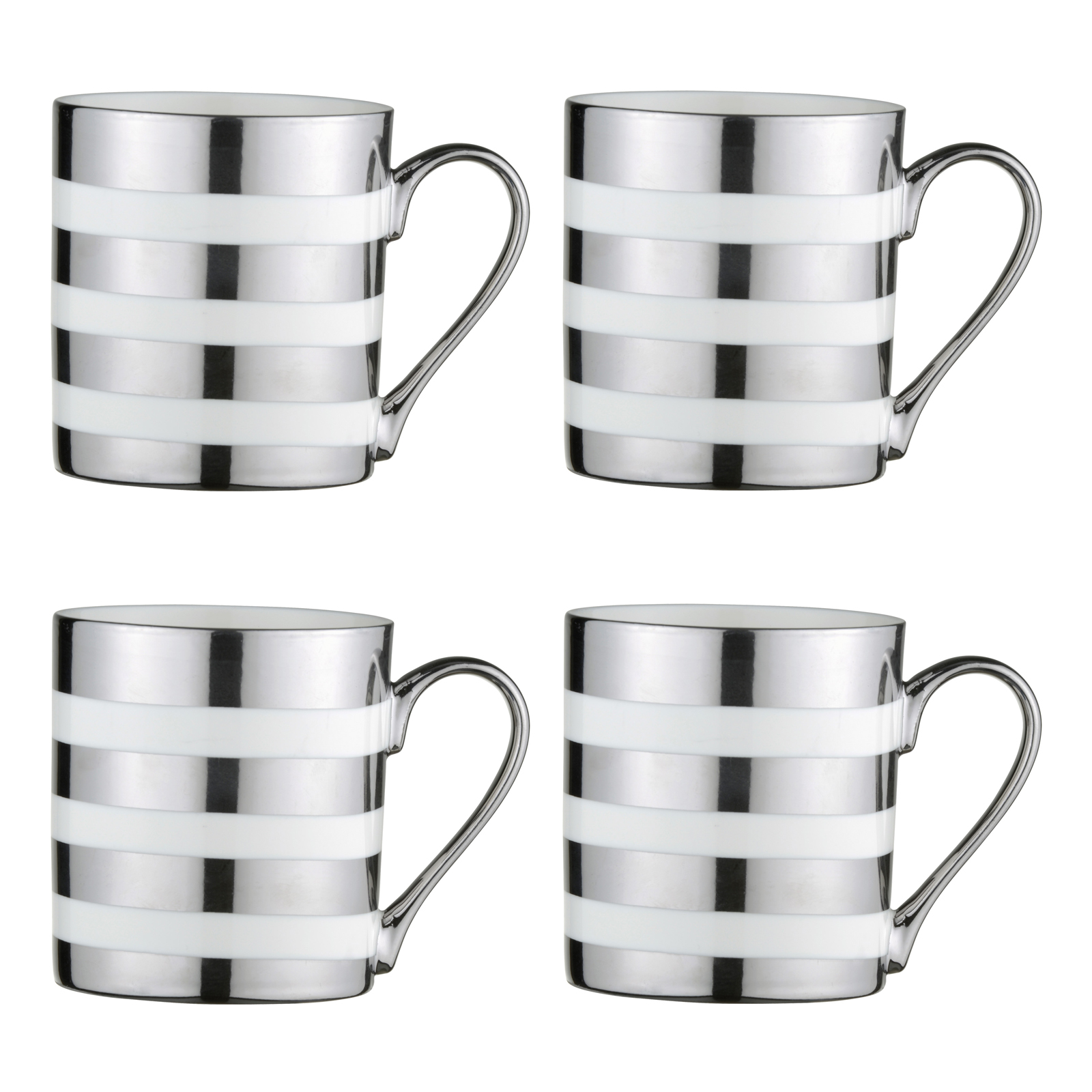 Electroplated Stripes Mugs