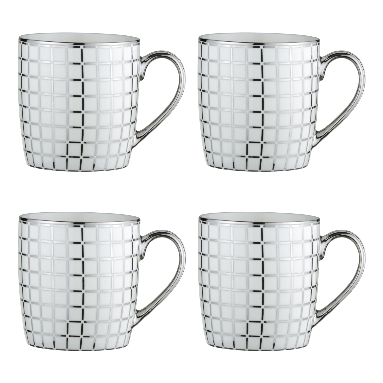 electroplated lattice mugs