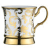 Set of 4 Acanthus Mugs Gold by BIA