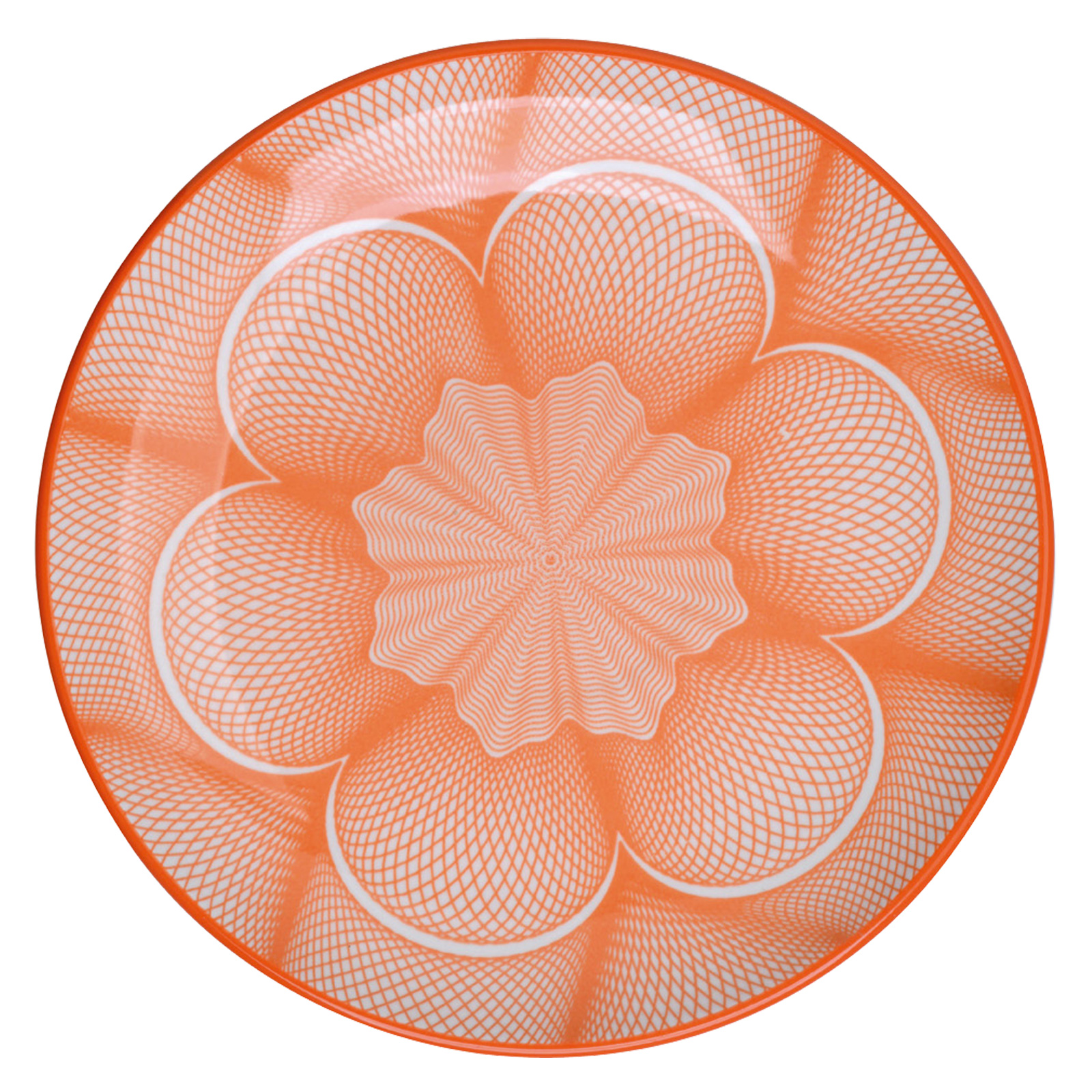 Set of 4 Spyro Plates Orange by BIA