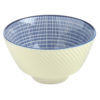Set of 12 Tao Dipping Bowls Blue by BIA
