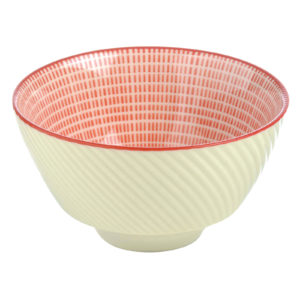 Set of 12 Tao Dipping Bowls Red by BIA