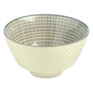 Set of 12 Tao Dipping Bowls Grey by BIA