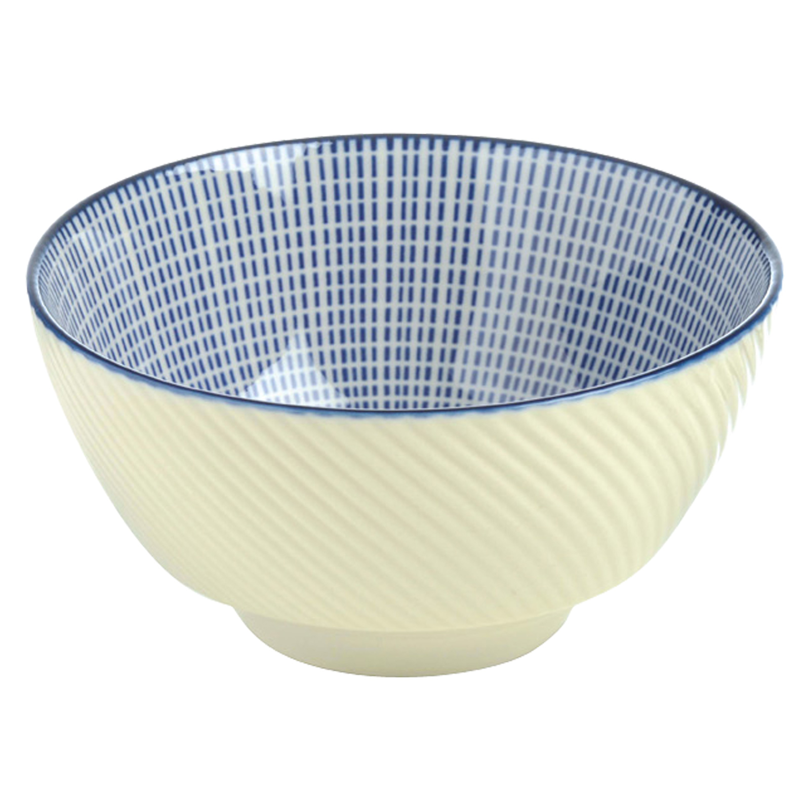 Set of 4 Tao Rice Bowls Blue by BIA