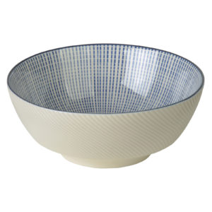 Set of 2 Tao Noodle Bowls Blue by BIA
