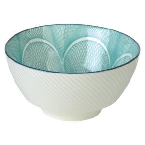 Set of 4 Spyro Rice Bowls Blue by BIA