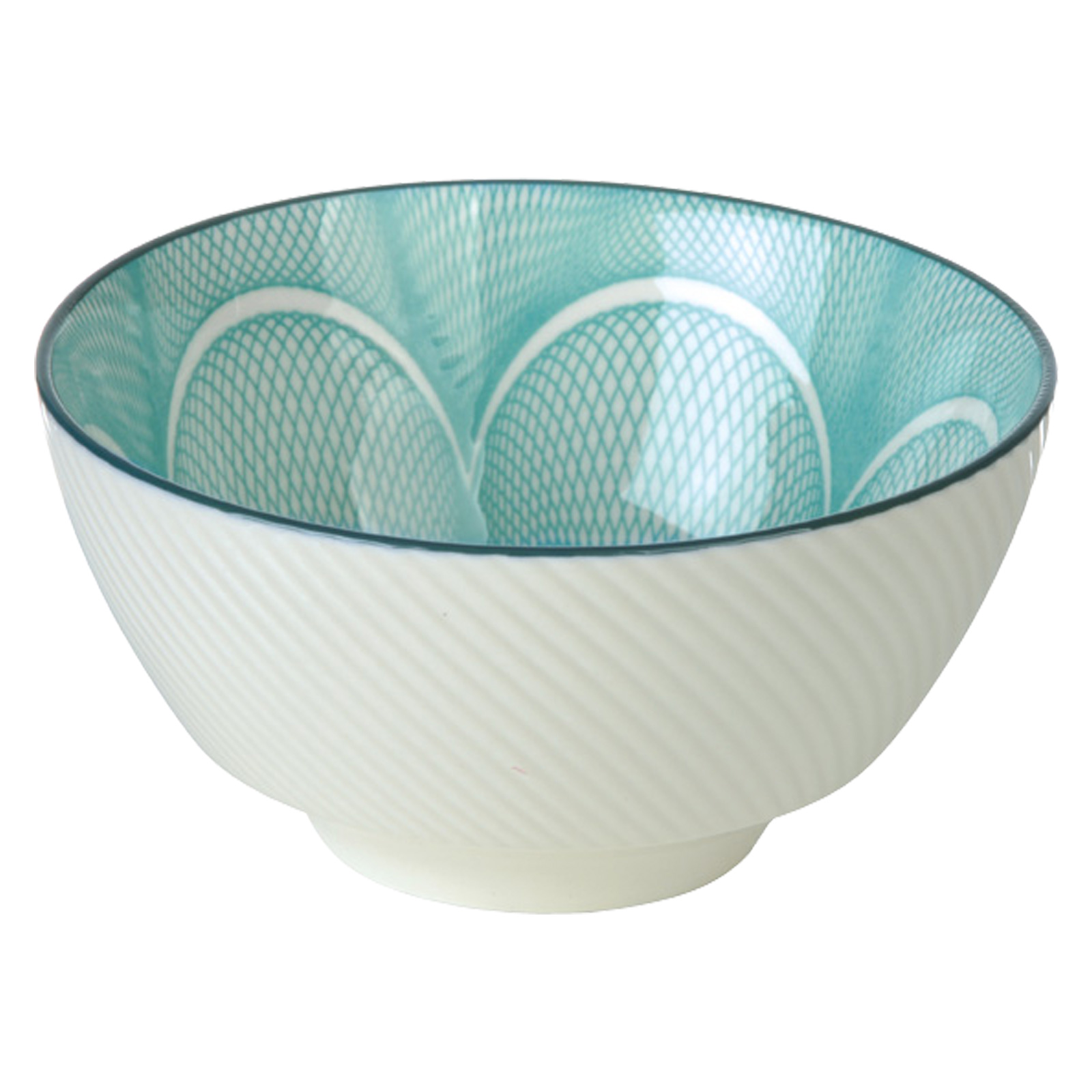 Set of 4 Spyro Rice Bowls Blue by BIA