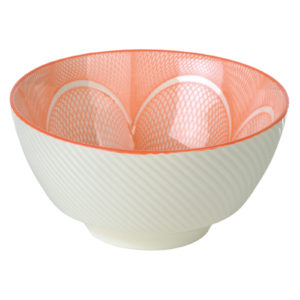 Set of 4 Spyro Rice Bowls Orange by BIA