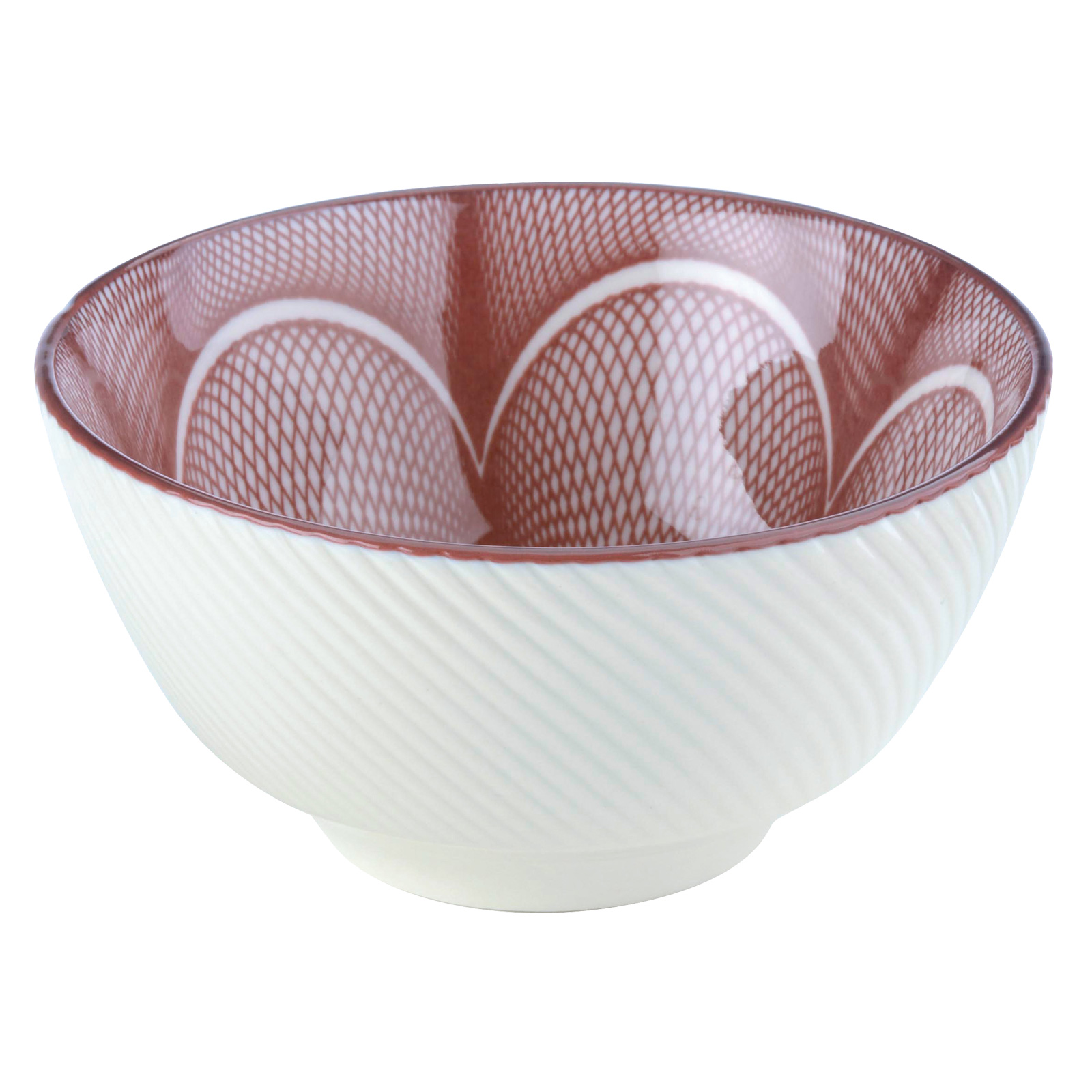 Set of 4 Spyro Rice Bowls Plum by BIA