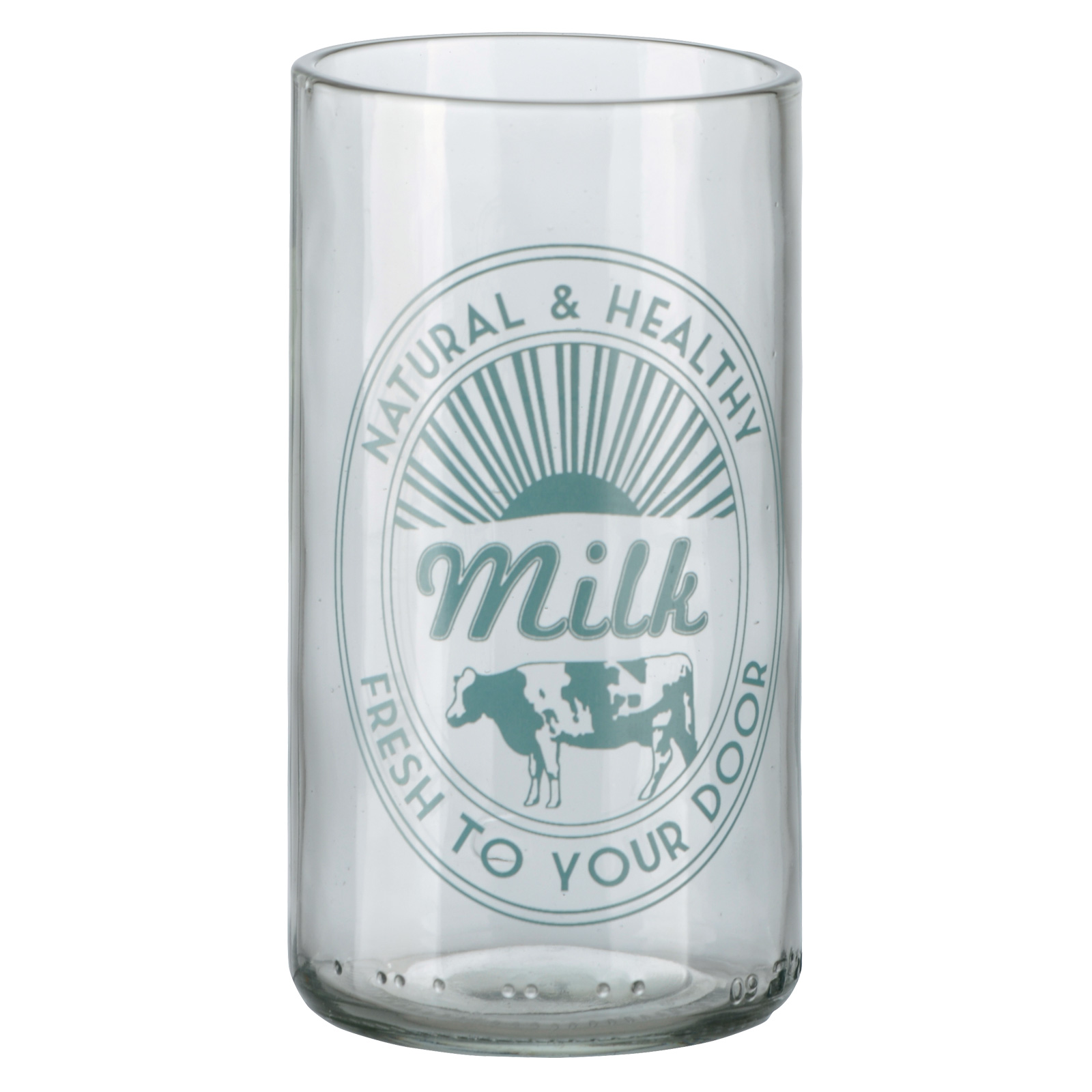 Set of 4 Retro Milk Tumblers by Artland