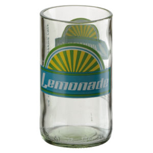 Set of 4 Retro Lemonade Tumblers by Artland