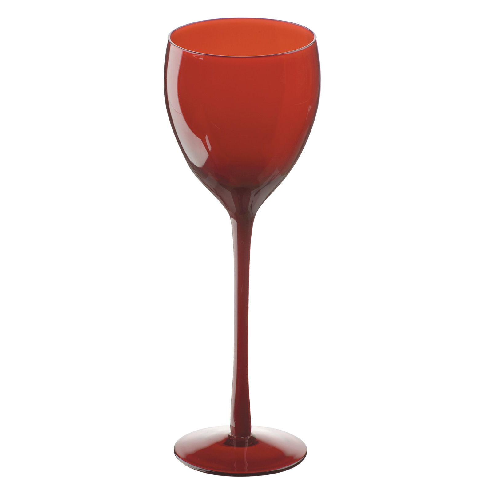 Set of 2 Midnight Goblets Red by Artland