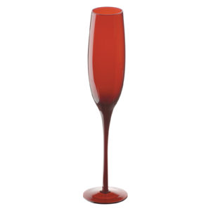 Set of 2 Midnight Flutes Red by Artland