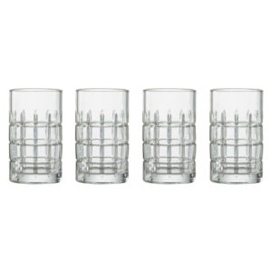 Set of 4 Newport Hiball Tumblers by Artland