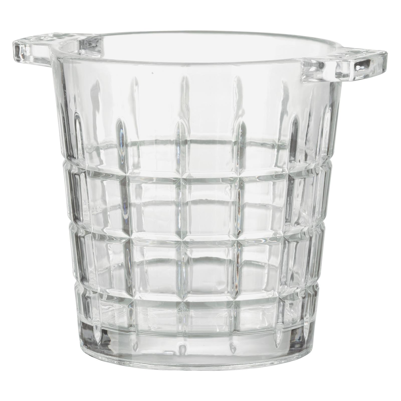 Newport Ice Bucket with Tongs by Artland