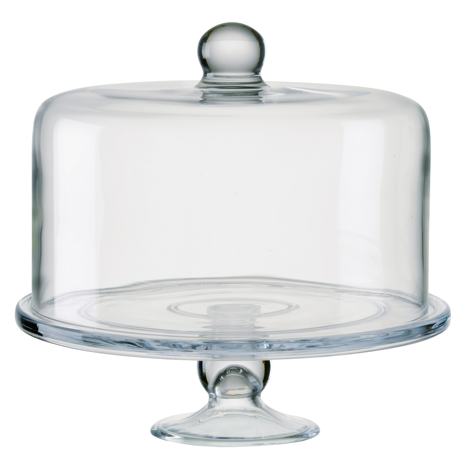 Simplicity Cake Stand with Straight Sided Dome by Artland