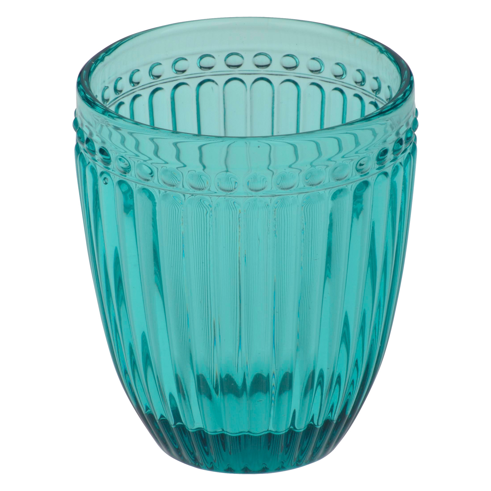 Set of 6 Loire DOF Tumblers Aqua Blue by Anton Studio Designs