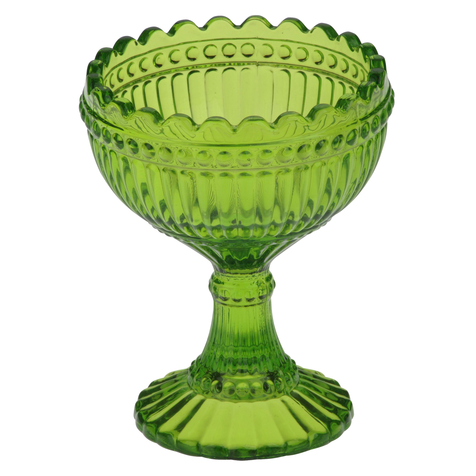 Set of 6 Loire Coupes Green by Anton Studio Designs