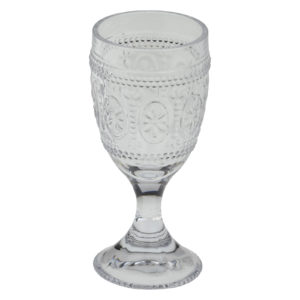 Set of 6 Savoie Goblets Clear by Anton Studio Designs