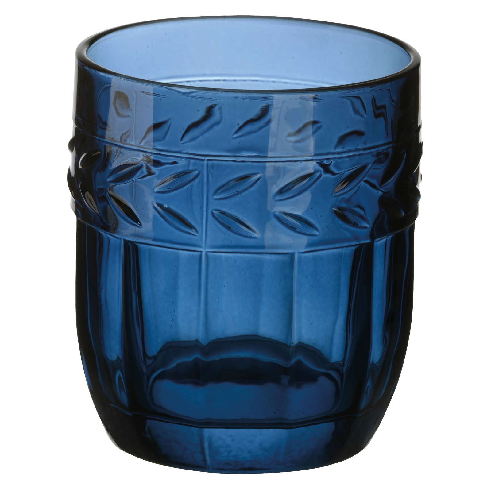 Set of 6 Camargue DOF Tumblers Dark Blue by Anton Studio Designs
