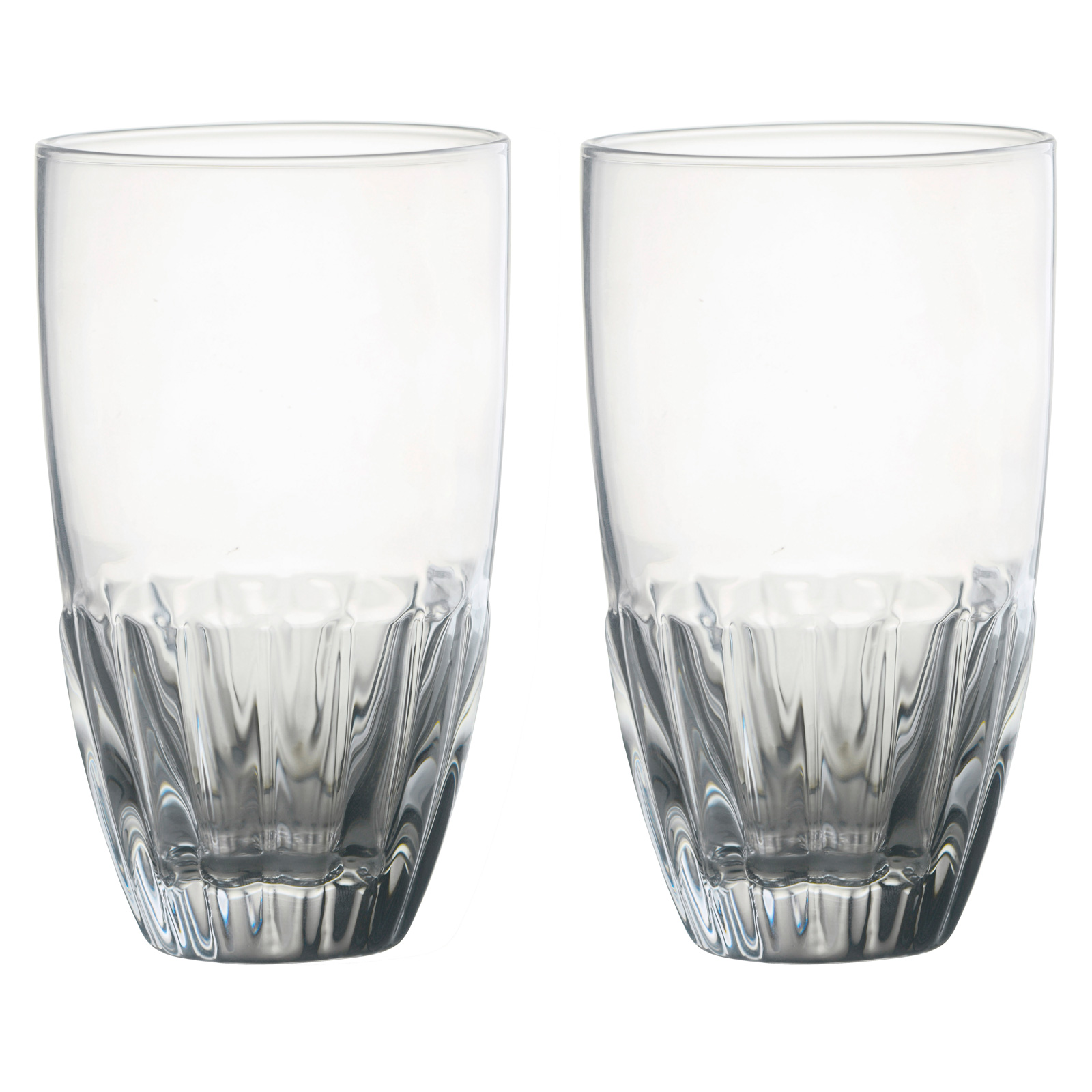 Set of 2 Solar Hiball Tumblers Clear by Anton Studio Designs