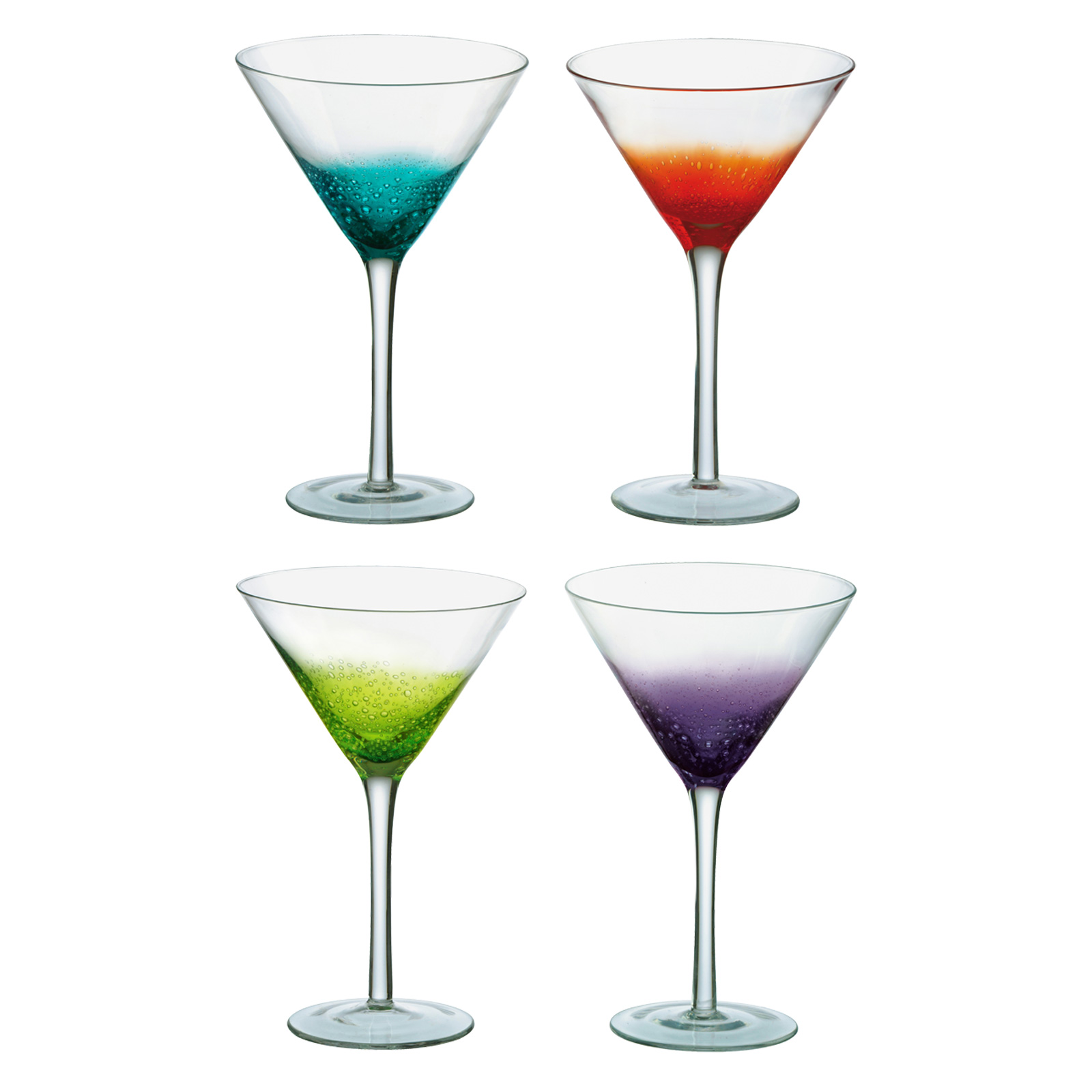Set of 4 Fizz Cocktail Glasses by Anton Studio Designs
