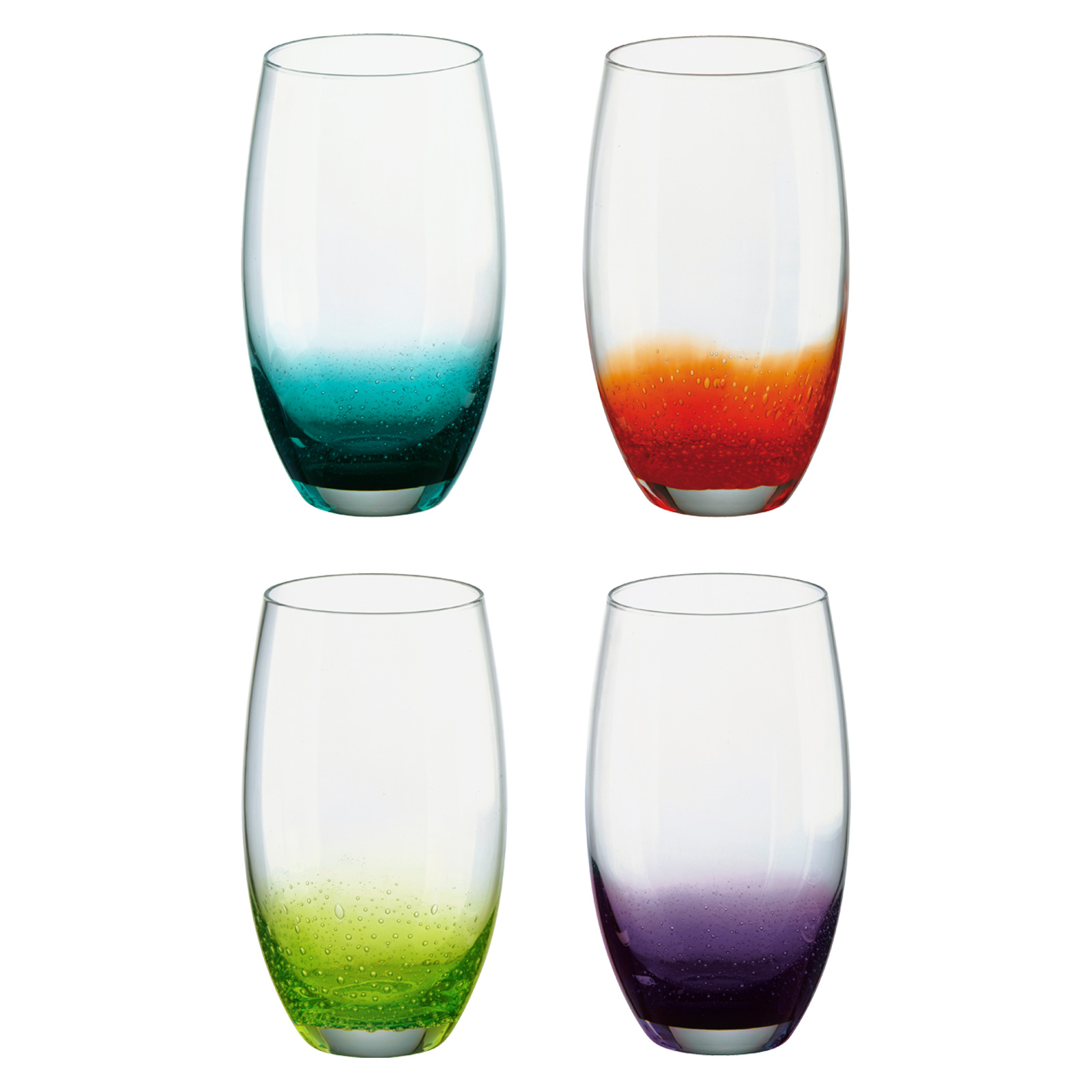 Set of 4 Fizz Hiball Tumblers by Anton Studio Designs